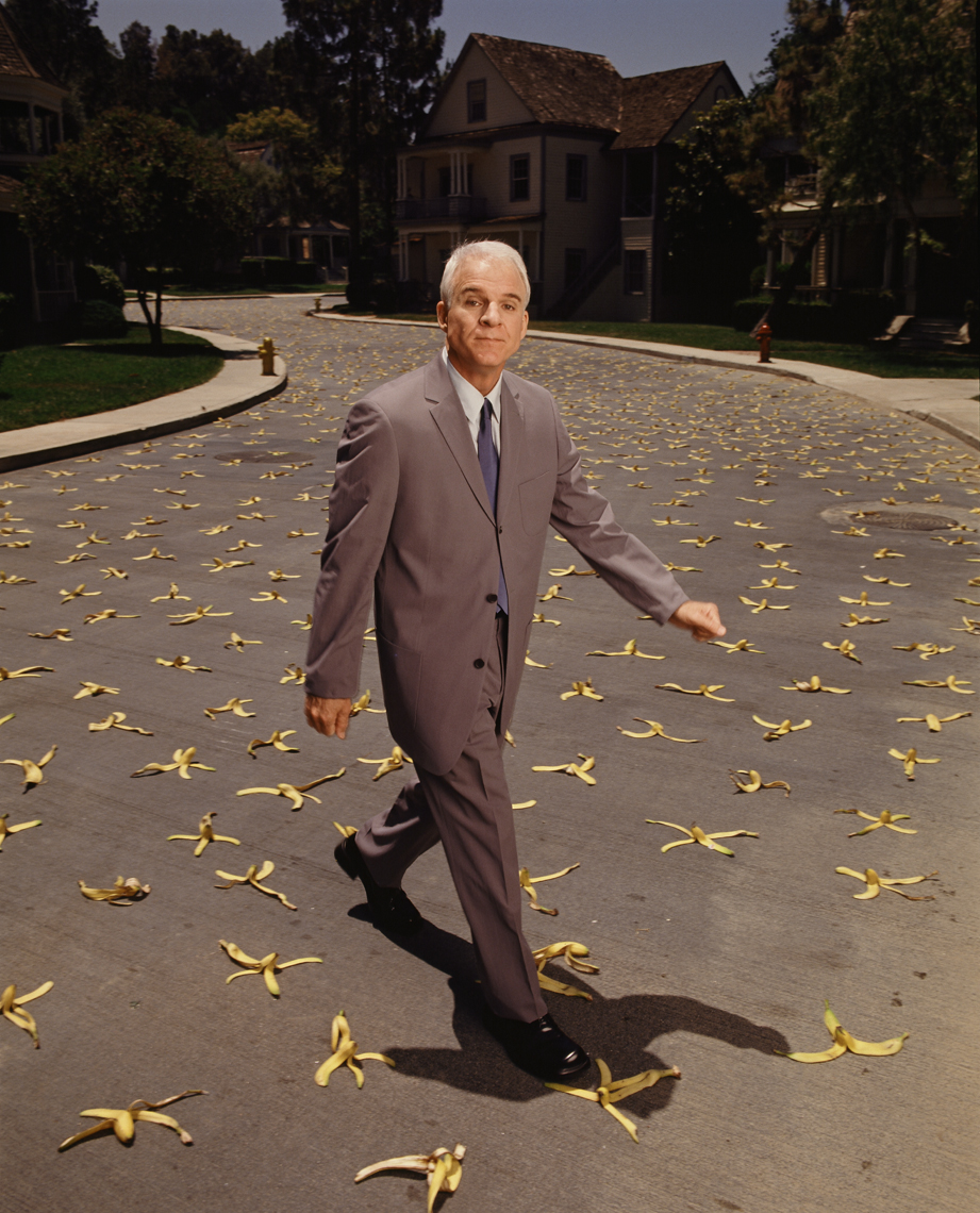 wSteveMartin_Banana_Peels